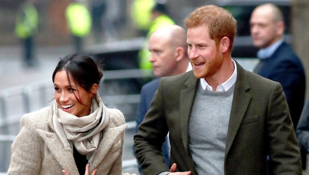 Harry y Meghan Markle (Archivo)