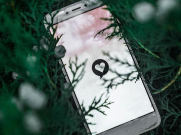 Apps de citas en el móvil.