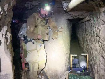La Policía fronteriza de Estados Unidos descubre el 'narco túnel' más largo entre México y California