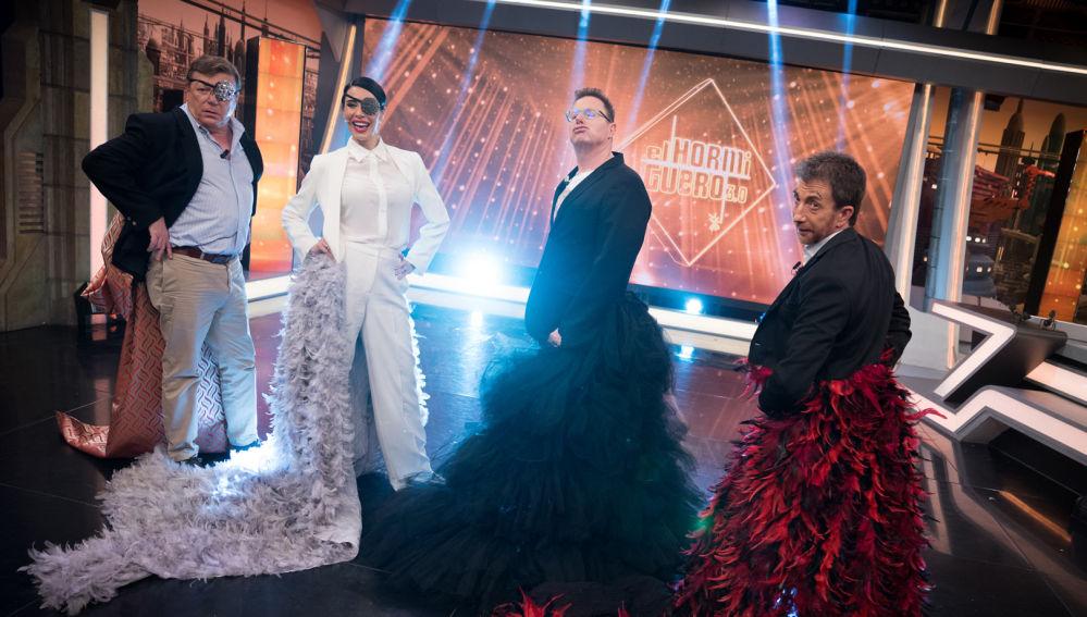 Pilar Rubio deja sin palabras a Los Morancos con las tendencias más llamativas en 'El Hormiguero 3.0'