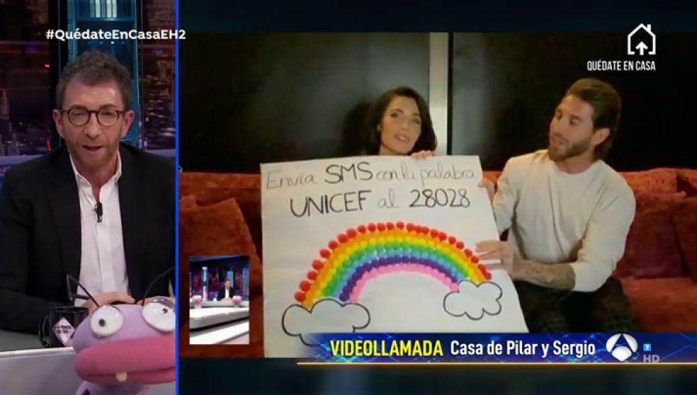 sí le explican Sergio Ramos y Pilar Rubio qué es el coronavirus a sus tres hijos
