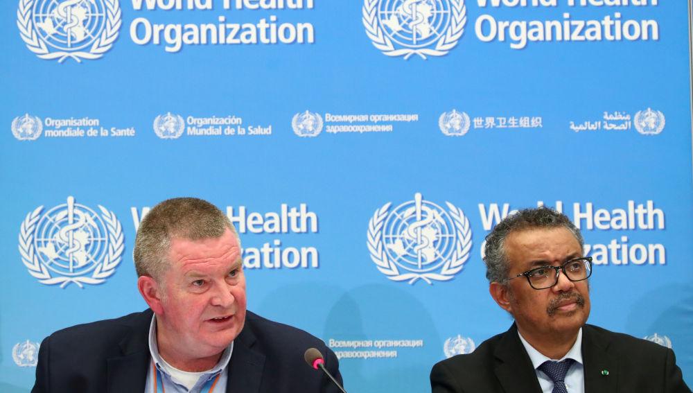 Michael Ryan, Director Ejecutivo del Programa de Emergencias Sanitarias de la OMS