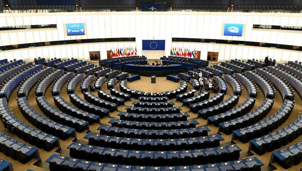 La sala plenaria del Parlamento Europeo, en Estrasburgo