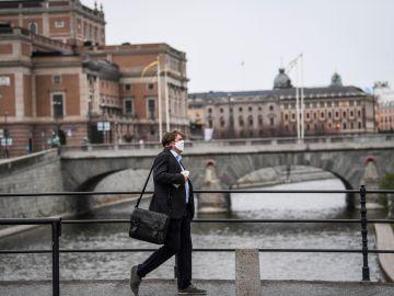 Un hombre en Suecia