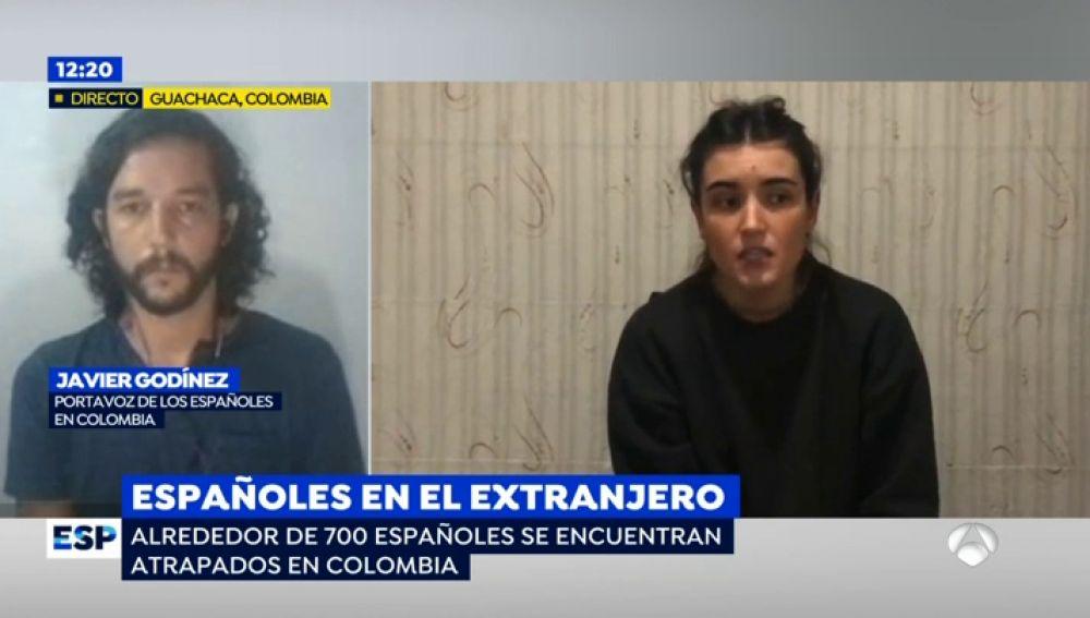 Alrededor de 700 españoles están atrapados en Colombia a la espera de volver a su país