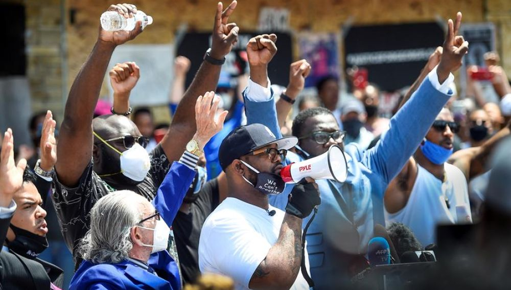 Protestas en Minneapolis tras la muerte de George Floyd