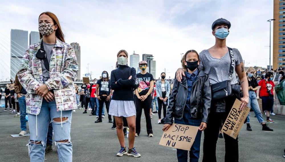 Protestas contra el crimen de George Floyd