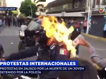 La cara más amarga de las protestas internacionales contra el abuso policial