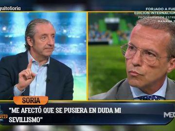 """El contundente mensaje de Pedrerol a Cristóbal Soria: """"Piensas que estás por encima del bien y del mal"""""""
