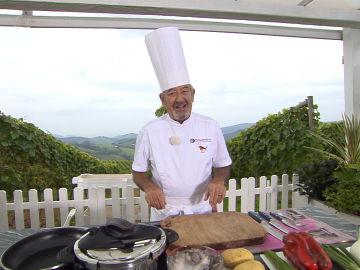 Karlos Arguiñano desvela el origen del frito de pulpo, un exquisito plato regional
