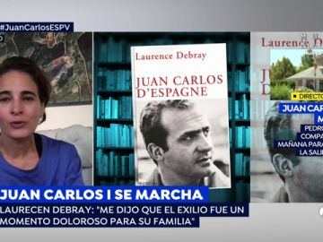 """Laurence Debray: """"la imagen de Juan Carlos en Francia es muy positiva"""""""