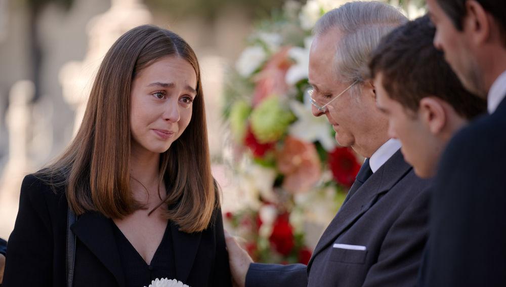 Luisita regresa a Madrid para apoyar a su familia en los momentos más duros