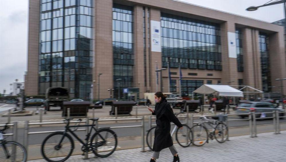 Exteriores del Consejo Europeo en Bruselas