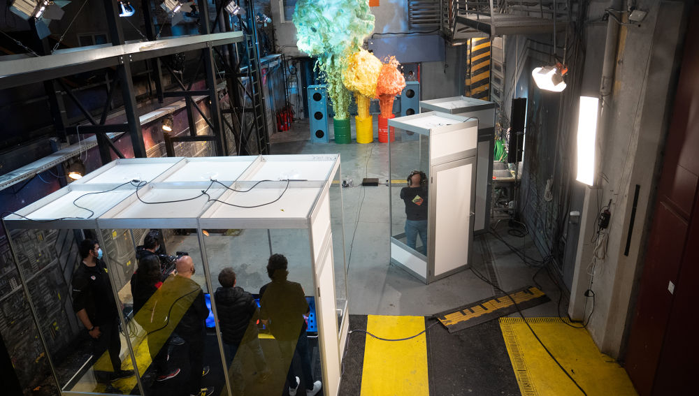 Marron impresiona con la creación de un 'big bang espumoso' en 'El Hormiguero 3.0'