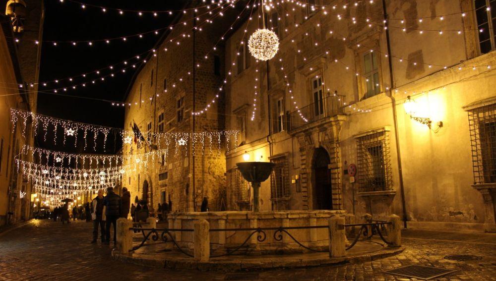 Luces de Navidad en Italia