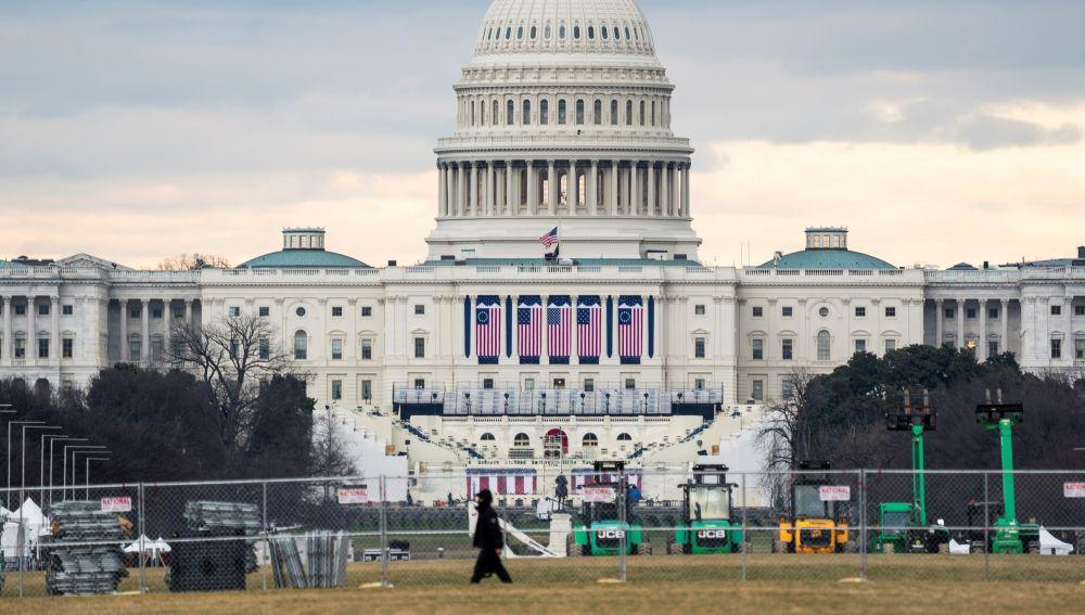El Capitolio, en Washington, lugar de la toma de posesión de Joe Biden