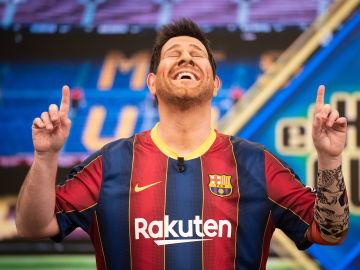 """El doble de acción de Messi se confiesa en 'El Hormiguero 3.0': """"Cada vez que respiro son mil pavos"""""""