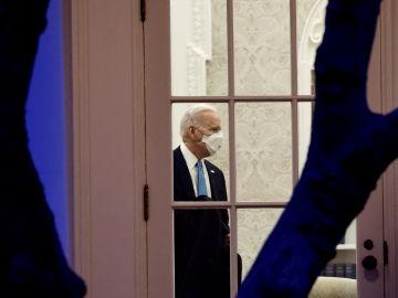 Joe Biden, en el Despacho Oval de la Casa Blanca