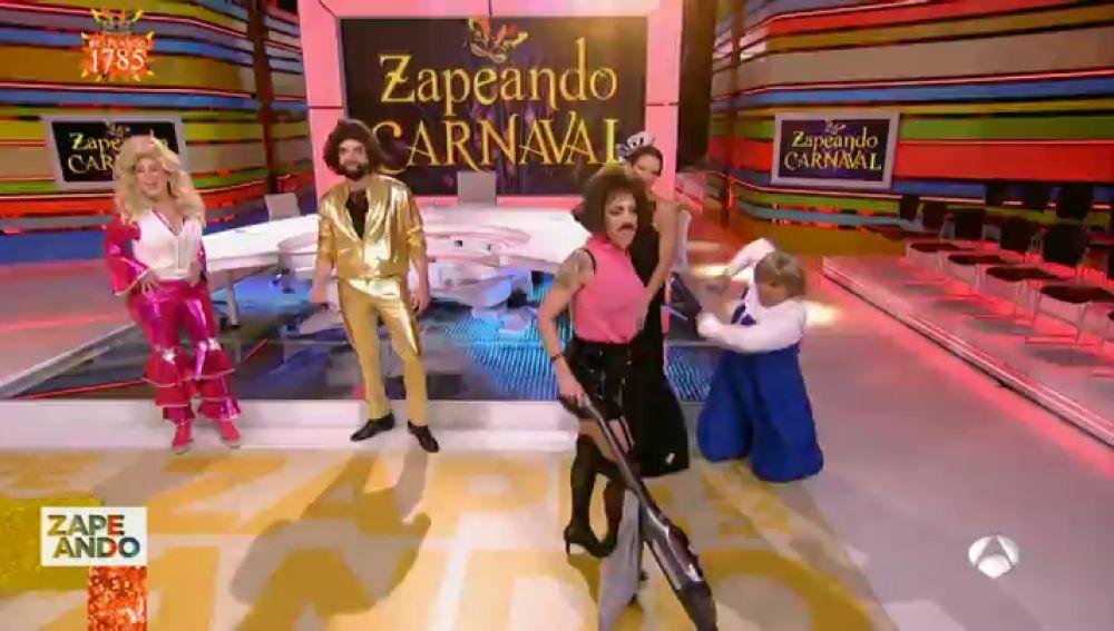 Así han celebrado el Carnaval los 'zapeanders' con disfraces espectaculares