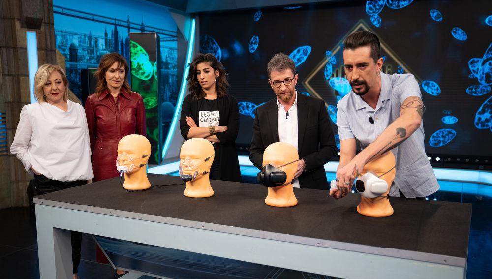 """Marron presenta la última generación en mascarillas contra el coronavirus: """"Ya existe esta tecnología altísima"""""""