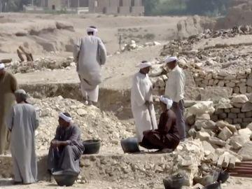 Descubren la ciudad pérdida en Lúxor, el hallazgo más importante en Egipto desde la tumba de Tutankamón
