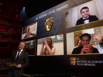 La película 'Nomadland' triunfa en los Premios Bafta con 4 estatuillas