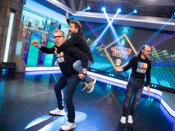 Revive la entrevista completa de José Mota, Santiago Segura y Florentino Fernández en 'El Hormiguero 3.0'
