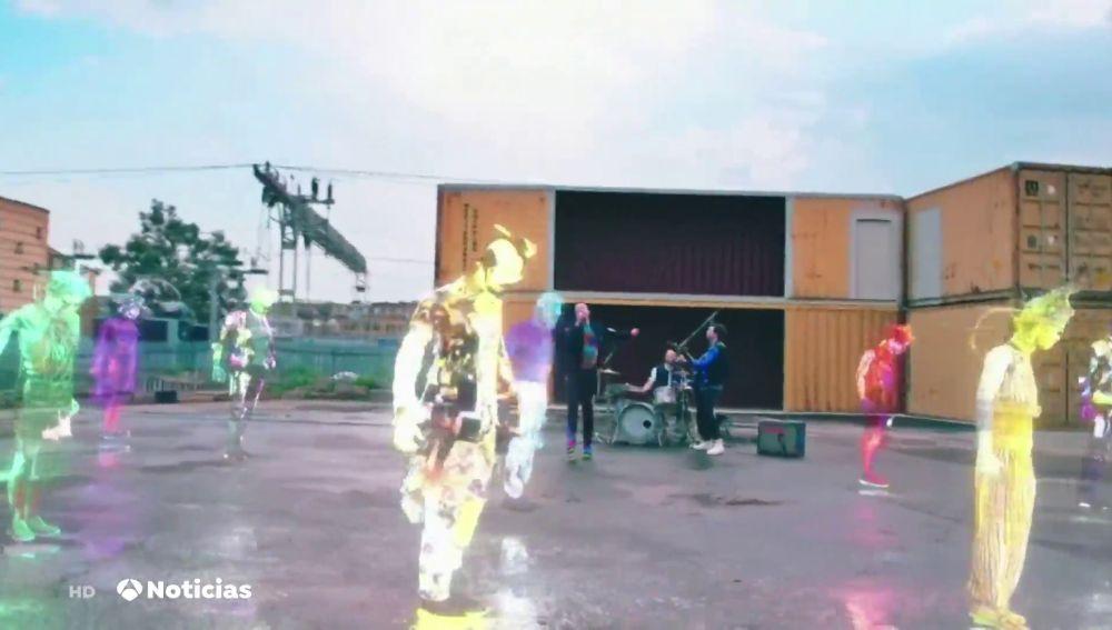 Coldplay lanza su nuevo single de una manera especial y espacial