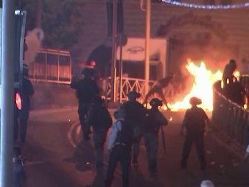 Jerusalén vive una segunda jornada de tensión entre palestinos e israelíes