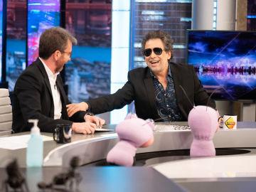"""Los mejores consejos de Andrés Calamaro para las futuras estrellas del rock: """"El desengaño amoroso se puede rentabilizar un poco"""""""