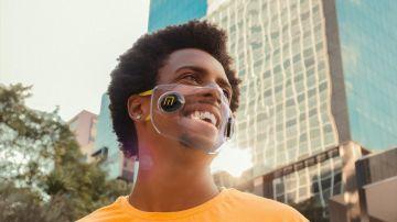 Las mascarillas transparentes de Mascarillas Béjar que hacen que vuelva la comunicación clara