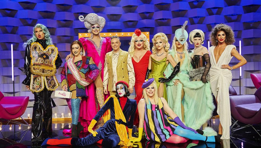 El reencuentro de las reinas de 'Drag Race España'