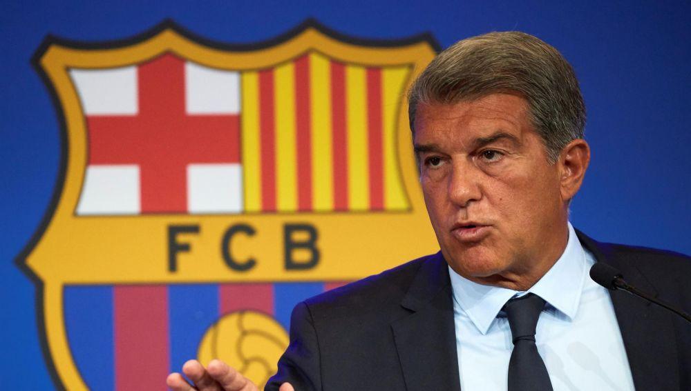 """Joan Laporta: """"Neymar estaba loco por venir"""""""