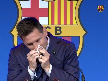 Se subasta el pañuelo de Messi por un millón de dólares