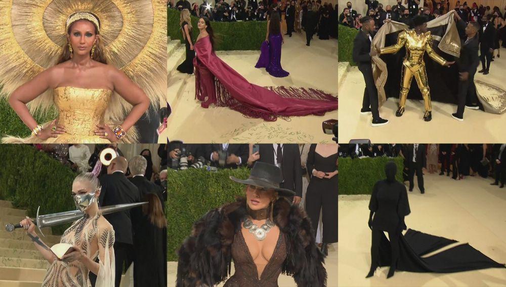 Los mejores 'looks' de la alfombra roja de la Gala MET 2021