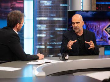"""Luis Tosar confiesa """"el momento más mágico"""" que ha rodado en su vida"""