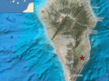 El IGN registra un terremoto en La Palma de magnitud 4,3, el temblor más intenso desde el inicio de la erupción