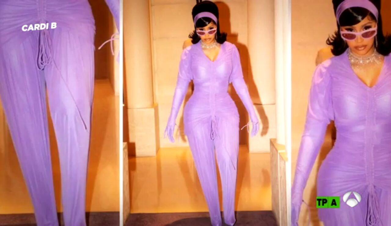 Los monos de Kim Kardashian y Cardi B, en la lupa de Josie en 'Zapeando'